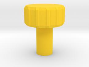 KillPlug v.3 in Yellow Processed Versatile Plastic