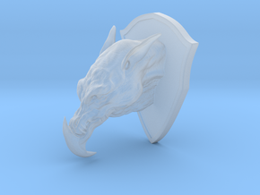 Hunting Trophy in Smooth Fine Detail Plastic