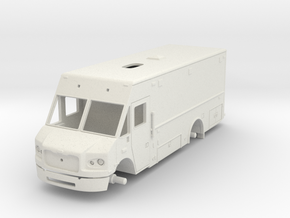 Philadelphia Support Truck 1/64 in White Natural Versatile Plastic