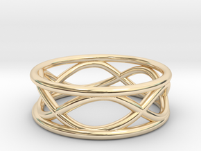 Infinity Ring- Size 7 in 14K Yellow Gold
