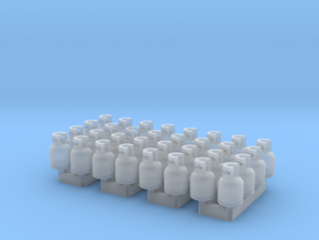 LPG Tanks 5kg, 32pc., N-scale in Smooth Fine Detail Plastic