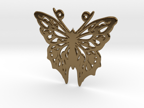 Butterfly in Polished Bronze
