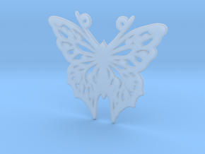 Butterfly in Smoothest Fine Detail Plastic