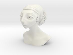 ParisGirl3 in White Natural Versatile Plastic