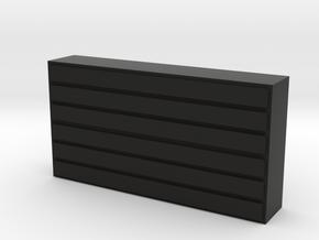 Otari Mx 5050 Replacement Stop Button in Black Natural Versatile Plastic