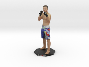"Chris Wade MMA - 6"" Figurine on Octogon Base  in Full Color Sandstone"