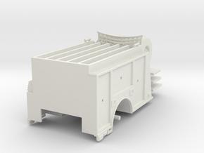 Philadelphia City Pumper body 1/64 in White Natural Versatile Plastic