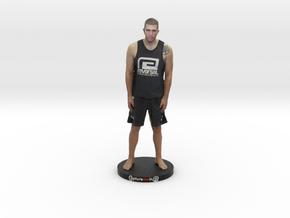 "Brian LONG ISLAND MMA With Base - 6"" Figurine in Full Color Sandstone"