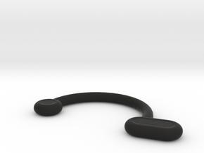 Nose Insert1 10 R1 11.5 R2 1.2 R3 2.0 R4 1.3 Theta in Black Natural Versatile Plastic