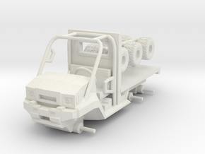 1/64 Scale MULE Ambulance Chassis in White Natural Versatile Plastic
