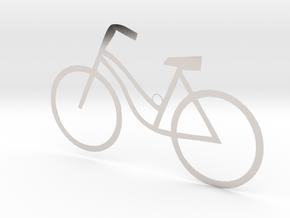 Ladies Bicycle in Platinum