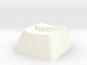 Nvidia Cherry MX Keycap in White Strong & Flexible Polished