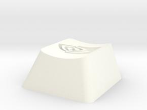 Nvidia Cherry MX Keycap in White Processed Versatile Plastic