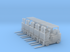 Mitsubishi FGC30N Forklift (N-1:160) 5X in Frosted Extreme Detail