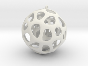 Voroball 3 in White Strong & Flexible