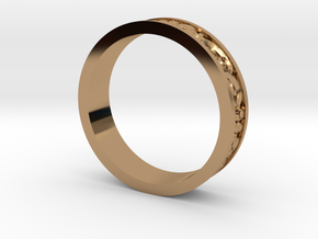 Harmony Ring in Polished Brass