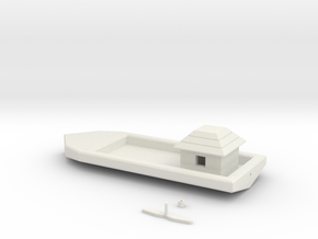 Simple Floating Boat in White Strong & Flexible