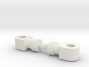 Huff - Hips in White Natural Versatile Plastic