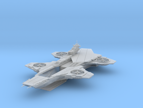 Hellicarrier [280mm for FUD] in Frosted Ultra Detail
