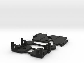 Dinky rear wheel C55 beechcraft in Black Strong & Flexible
