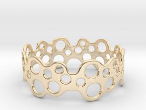 Bubbles Bracelet 75 in 14k Gold Plated