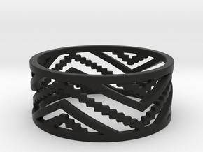 Roos' trousers Ring in Black Natural Versatile Plastic
