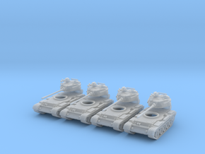6mm 1/285 T-55 tanks in Frosted Extreme Detail