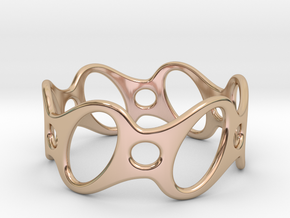 Fantasy Bracelet 68 in 14k Rose Gold Plated Brass
