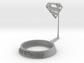 Superman in Metallic Plastic