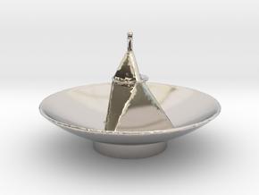 New Horizon's Antenna in Platinum