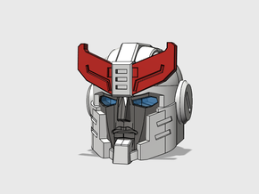 S.W.A.T. Intercepter's Head in Frosted Ultra Detail