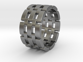 Wataru - Ring in Natural Silver: 10.75 / 63.375