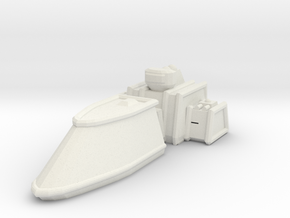 ZD102 Thorgrim Escort Frigate in White Natural Versatile Plastic