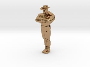 Mini Saxxy in Polished Brass