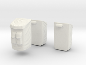 13A-Sample Bags - Apollo 15 & 16 in White Natural Versatile Plastic