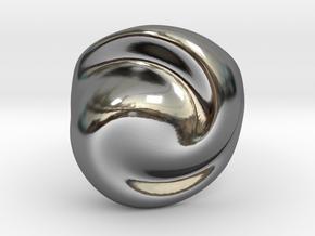 Praline EU54 in Fine Detail Polished Silver