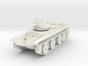 PV68 BT7 Fast Tank M1937 (1/48) in White Strong & Flexible