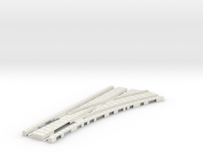 P-24stg-tram-rh-point-200-1a in White Natural Versatile Plastic