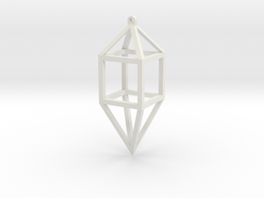 Cage The Sound in White Natural Versatile Plastic