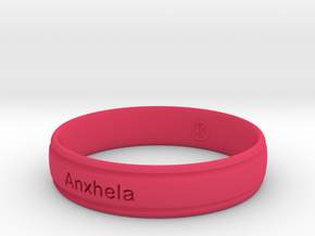 Bracelets (Personalize as you wish) in Pink Processed Versatile Plastic