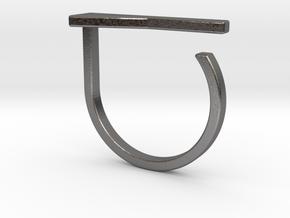 Adjustable ring. Basic model 15. in Polished Nickel Steel