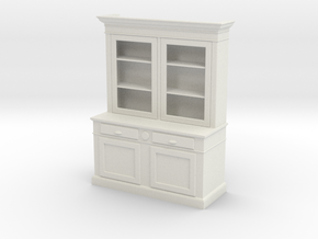 1:24 Hutch (NOT FULL SIZE) in White Natural Versatile Plastic