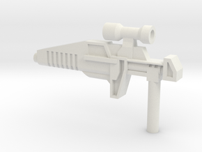 Typhoon Rifle (5mm) in White Strong & Flexible