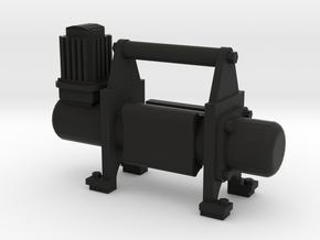 1/10 Scale air compressor / Compresor de aire in Black Natural Versatile Plastic