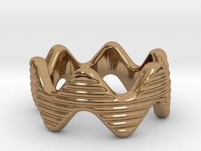 Zott Ring 20 - Italian Size 20 in Polished Brass