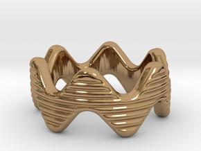 Zott Ring 21 - Italian Size 21 in Polished Brass