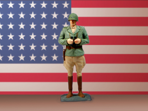 General George S. Patton in White Strong & Flexible