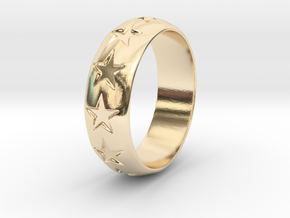 Eugen - Ring in 14k Gold Plated Brass: 9 / 59
