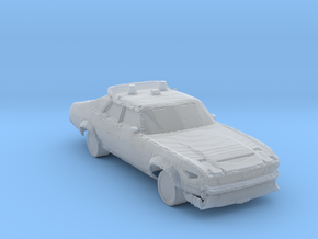 Waistelands Police cars Ver 2 in Smooth Fine Detail Plastic