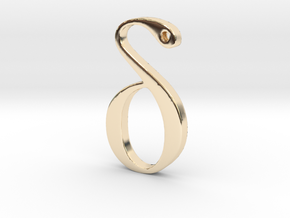 Delta in 14K Yellow Gold